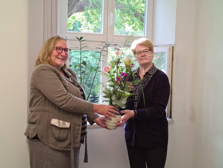 Sabine Depew und Christiane Reiche